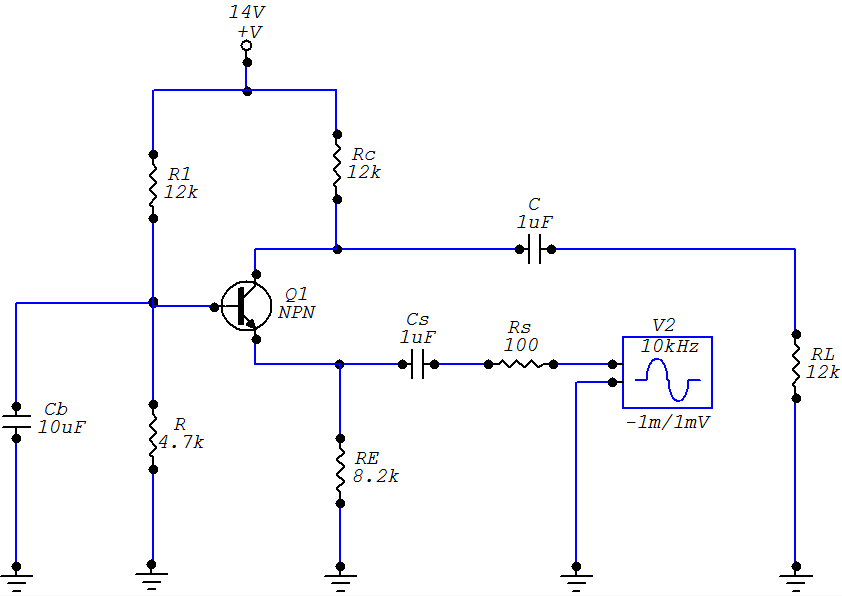 common-base-amplifier